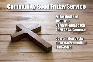 Good Friday Service 2015